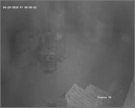 Грязная камера ночью 2