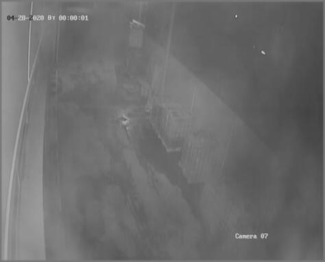 Грязная камера ночью 4