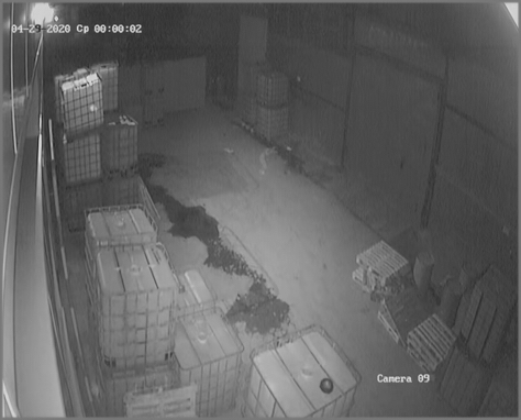 Чистая камера ночью 3