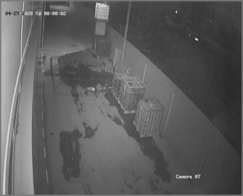 Чистая камера ночью 4