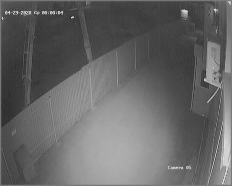 Чистая камера ночью