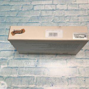 Торец упаковки с указанием модели домофона