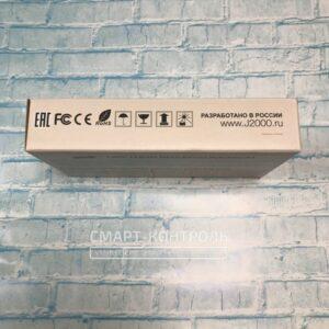 Торец коробки домофона j2000