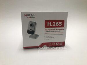 Лицевая сторона коробки HiWatch DS-i214W