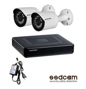Комплект на две видеокамеры