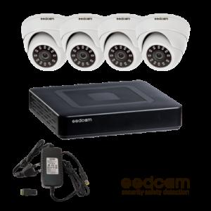 Комплекты с 4 камерами
